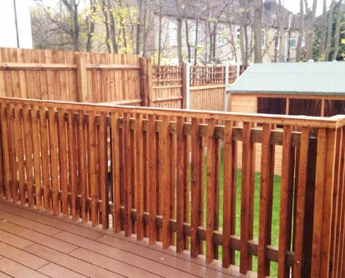 Pharoah Fencing Residential Fencing