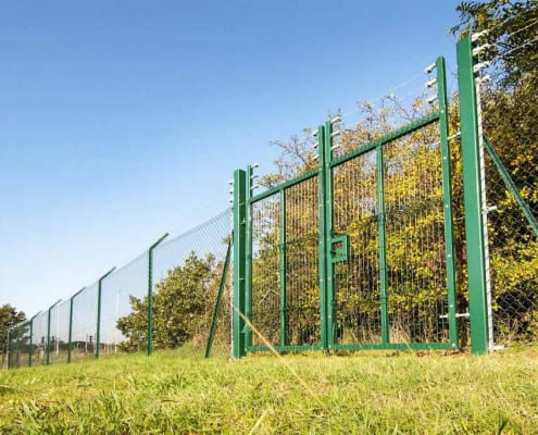 Pharoah Fencing Commercial Sector